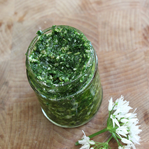 Vale House Kitchen wild-garlic-pesto